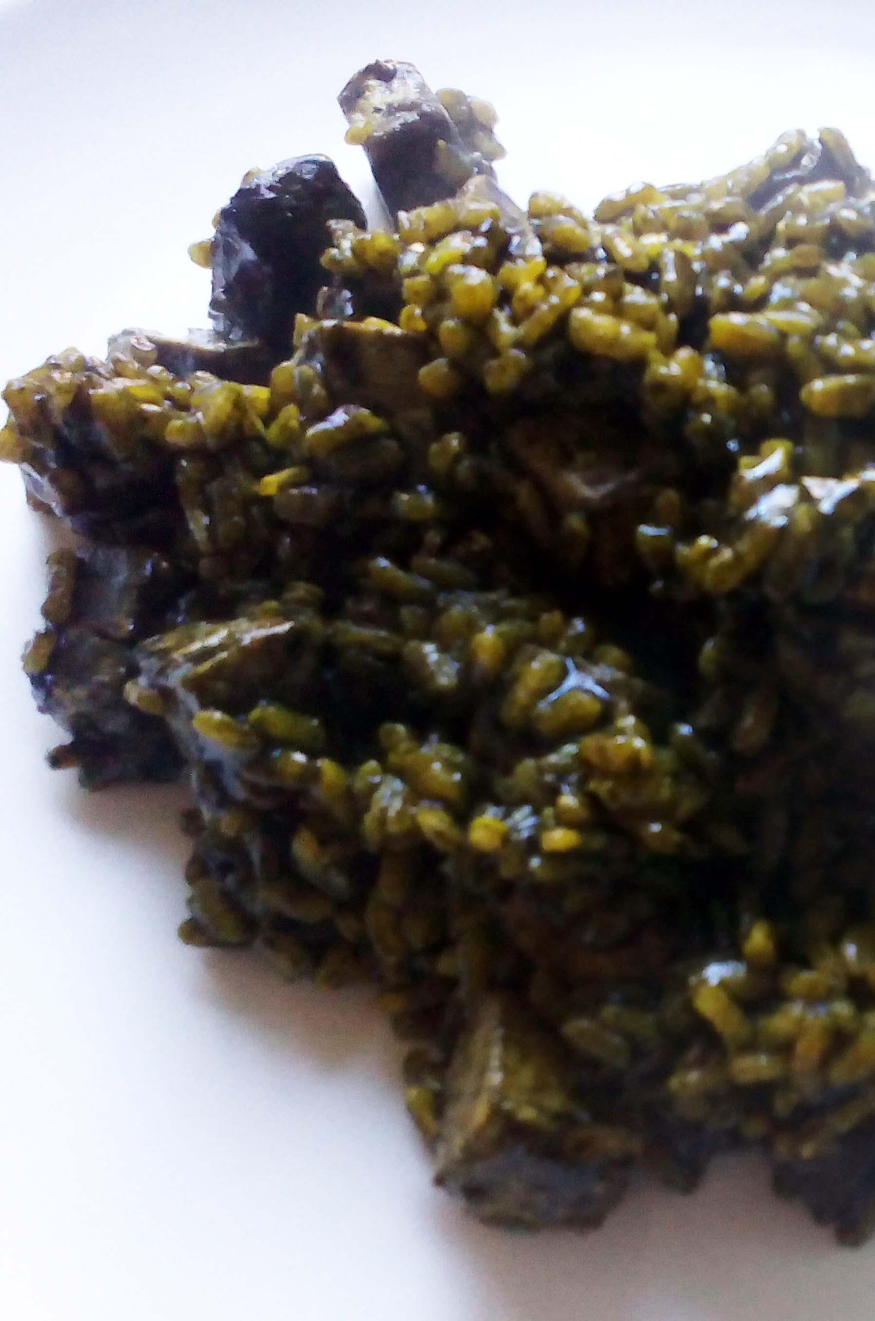 Arroz Negro Con Bonito Y Almejas Cocina Fitness
