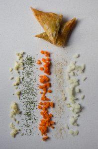 samosas vegetales fitness